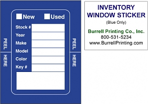 Larger image for Inventory Window Stickers
