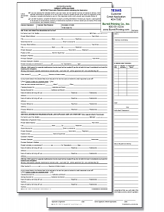 Larger image for Customer Credit Applications