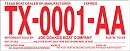 Order Boat Temp Tags - Red